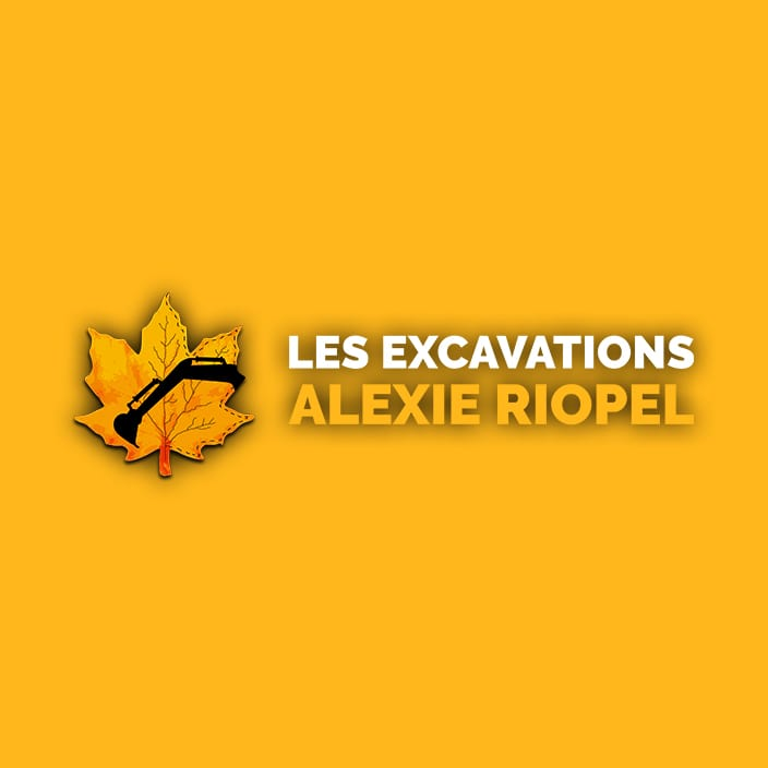 Logo - Les excavations Alexie Riopel
